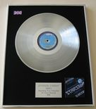 JEFFERSON STARSHIP - EARTH PLATINUM LP PRESENTATION Disc